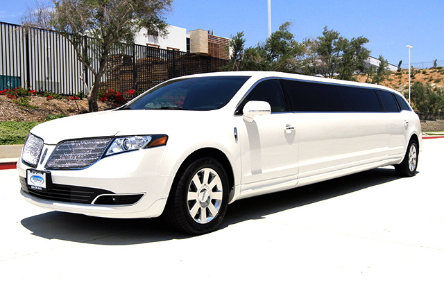 2019 Lincoln MKT Limousine by Tiffany Coach, White w/Black Leather