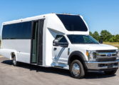 Ford F-550 shuttle bus